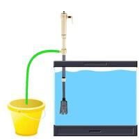 Новинка аквариум Батарея Syphon Управляется Fish Tank Вакуумный Гравий фильтр для воды чистке, сифон фильтр очиститель, аквариум Инструменты