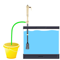 Nueva Llegada Acuario Sifón de La Batería Operado Fish Tank Grava Del Vacío Del Filtro De Agua Limpia, Limpiador de Filtro de Sifón, el Tanque de Pescados herramientas