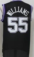 Men's #4 Chris Webber 55 Jason Williams Top quality Retro Throwback Stitched Basketball Jersey Embroidery US Size XXS XXL