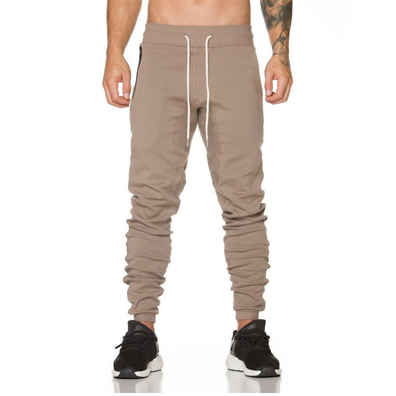 Hot 2017 Autumn Men Pants,fashion Men Pants,casual Slim Fit Mens Joggers Sweat Pants Large Size