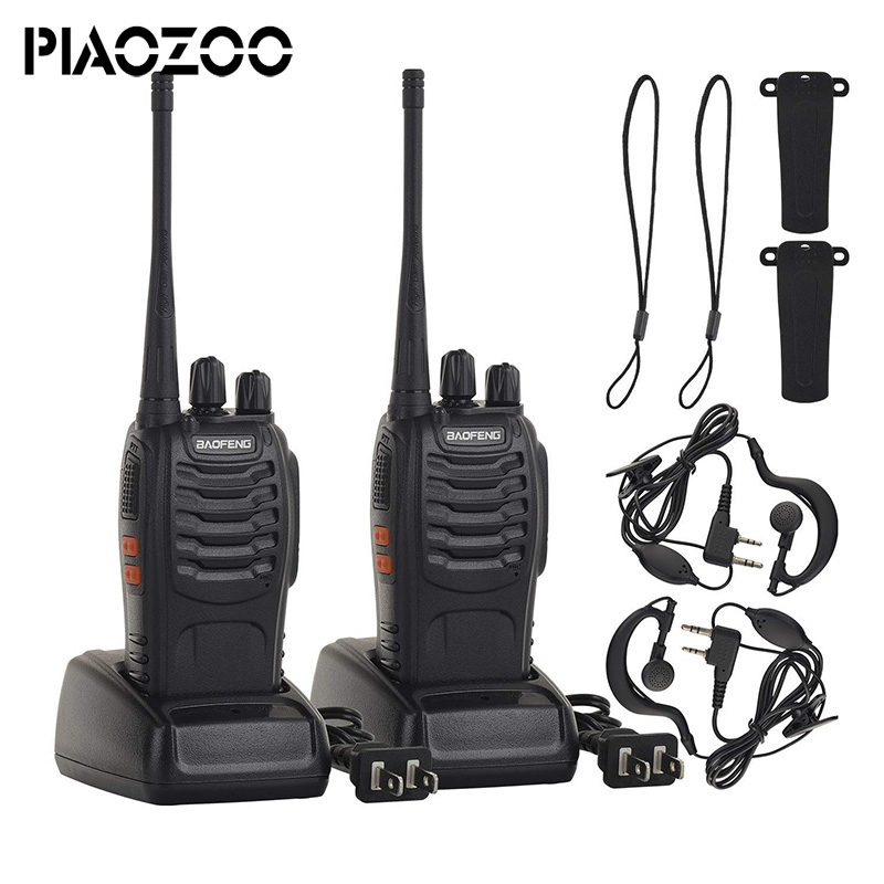 Baofeng BF-888S jouet Rechargeable talkie-walkie set interphone téléphone jouet professionnel talky gadget émetteur-récepteur de poche P20