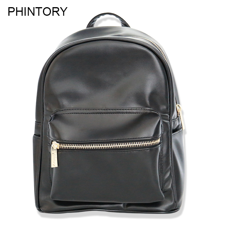 Mini Women Backpack Mochila Leather Backpacks Teenage Girls School Bags Female Travel Shoulder Bag High Quality