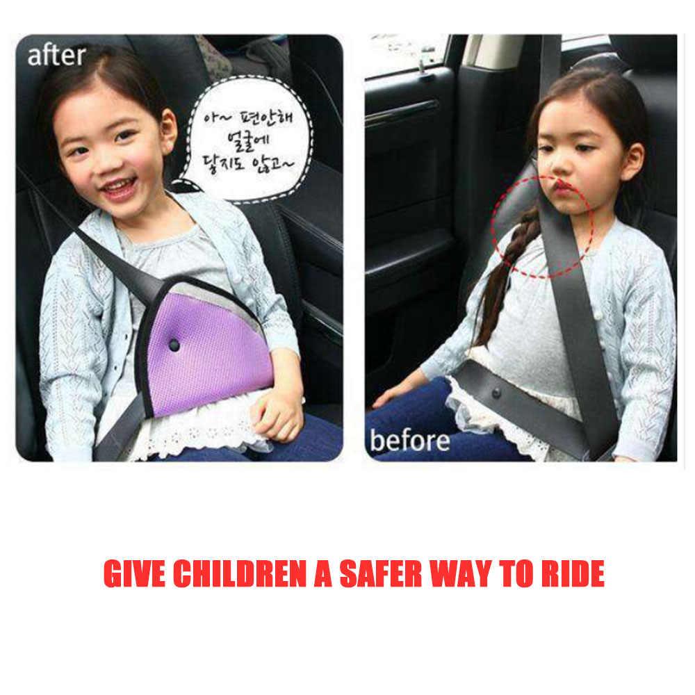 รถเข็มขัดนิรภัยแข็งแรงปรับรถความปลอดภัยเข็มขัดปรับอุปกรณ์สามเหลี่ยมเด็กทารกป้องกันเด็กความปลอดภัย