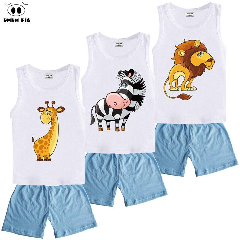 DMDM PIG Toddler Girl Boy Clothing Sets Costume For Girls Children's Sports Suits Kids Baby Clothes Sets Girls Clothes For Boys