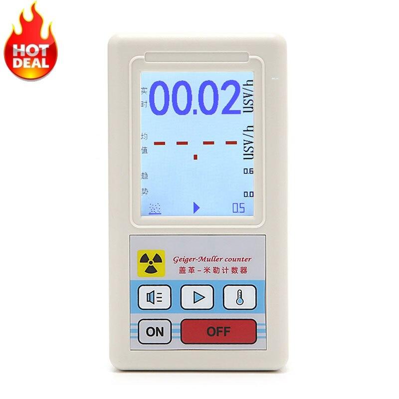 Zähler Kern Strahlung Detektor Dosimeters Marmor Tester Mit Display Screen Strahlung Dosimeter Geiger Zähler