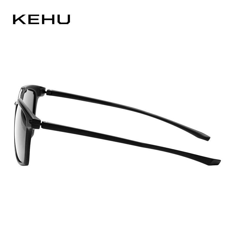 KEHU Pria Persegi Terpolarisasi Kacamata Merek Terpolarisasi Kacamata - Aksesori pakaian - Foto 4