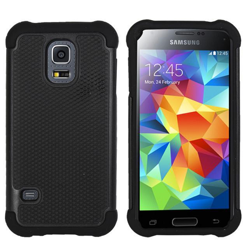 Plastic Case Back-Cover Grain S5mini-Ball Samsung Galaxy Dual-Layer For G800f/hybrid