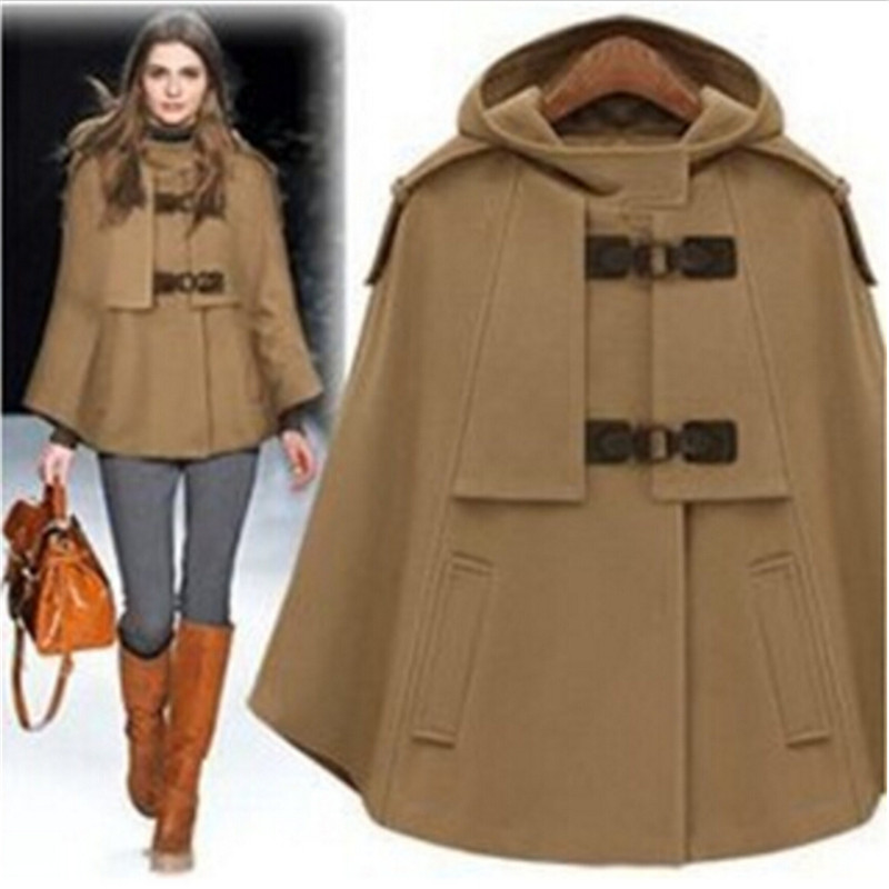 Popular Cashmere Cape Coat-Buy Cheap Cashmere Cape Coat lots from ...