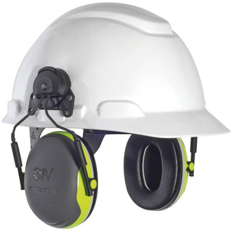 3M X4P3 type de suspension cache oreilles disolation phonique pour casque de sécurité protecteur doreille 3m réduire le bruit mécanique cache oreilles industriels-in Oreille Protecteur from Sécurité et Protection on AliExpress