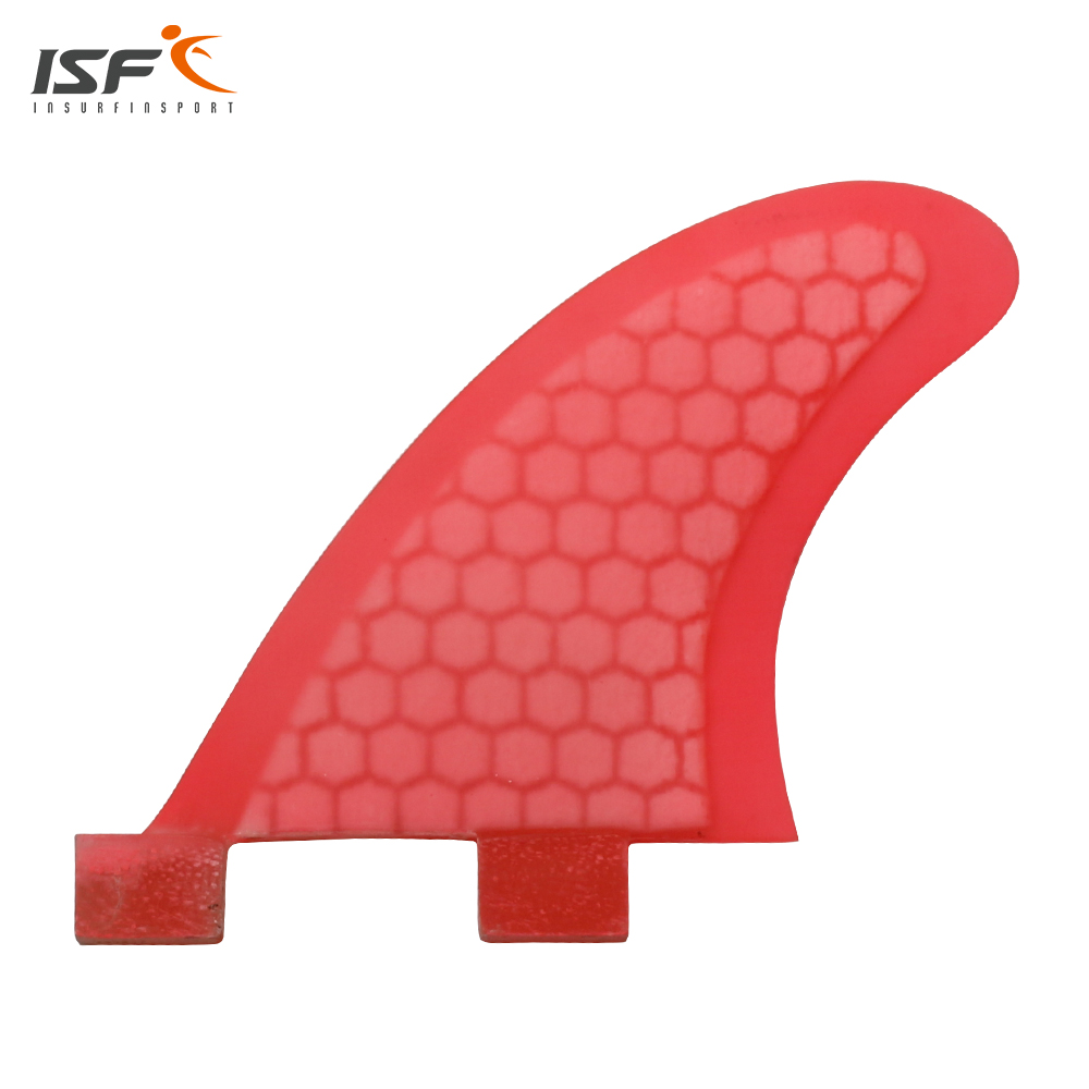 Free Shipping New Fiberglass Honeycomb Surf Fins Quilhas Fcs GL Surfboard Fins GL 2 Pcs Per Set