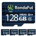 Rondaful tarjeta sd micro 64 gb clase 10 de 8 gb-128 gb uhs-1 de 32 gb/128 gb c10 flash tarjeta de memoria microsd de memoria para smartphone