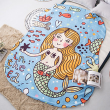 1pcs Cartoon Mermaid Summer Cool blanket air conditioning comforter children Adult girl in summer throw