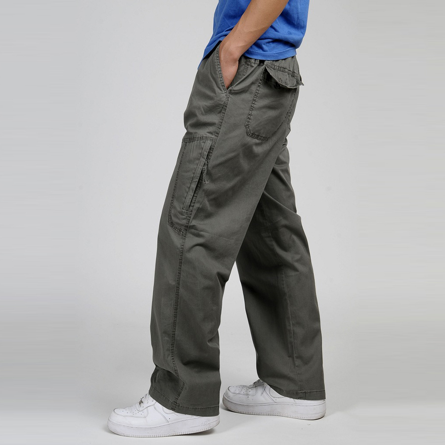 Online Buy Wholesale mens elastic waist cargo pants from China ...