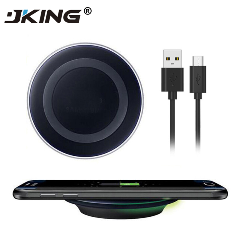 Wireless Charger QI Charging Pad For Samsung Galaxy S6 S6 Edge S7 S7 Edge Note 5 S8 S8 Plus Mobile Phone Charger For IPhone X 8