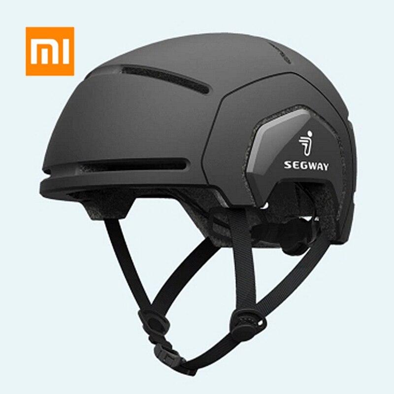 Angemessen Xiaomi Youpin Segway Fahrrad Helm Hut Männer Frauen Einfache Mode Pc Leichte Wasserdichte Sicherheit Helm Für Moto Roller Skate Im In- Und Ausland FüR Exquisite Verarbeitung, Gekonntes Stricken Und Elegantes Design BerüHmt Zu Sein