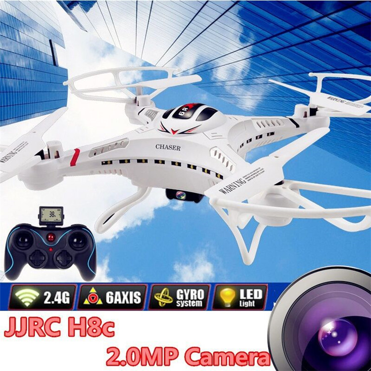 ФОТО JJRC H8C Rc Drones With 0.3MP Camera Helicopter Radio Remote Control Quadcopter Drone Toys