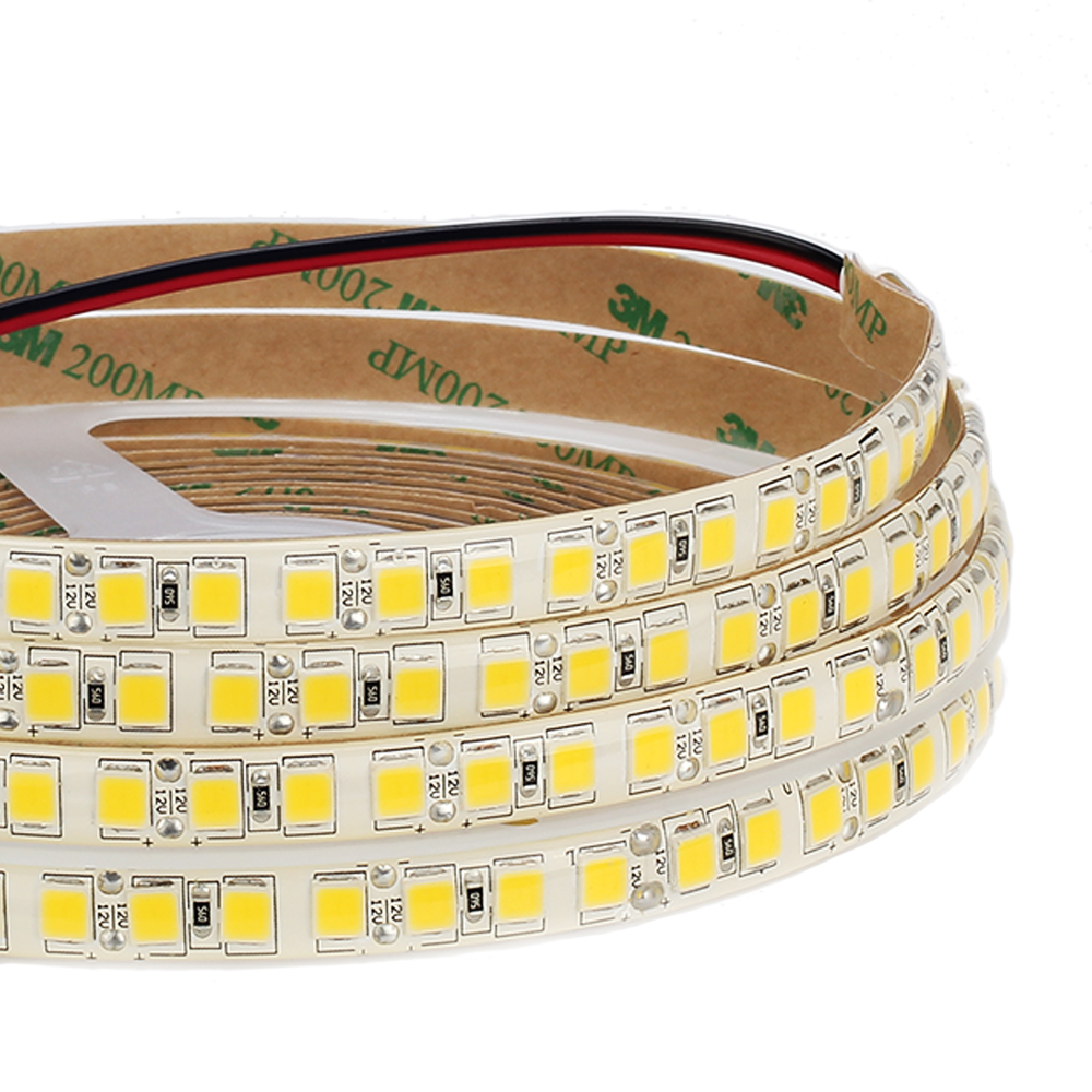 DC12V LED Strip 5054 120LEDs/m 5M High brightness LED Flexible Strip Light Warm white /  ...