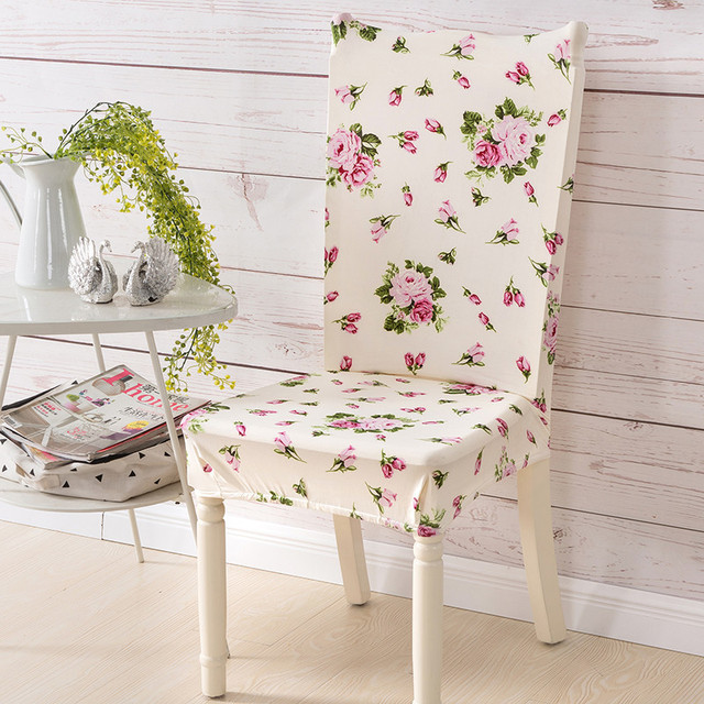 dining chair covers in store matching living room chairs aliexpress com buy modern print cover spandex removable stretch elastic slipcover for hotel banquet wedding seat case