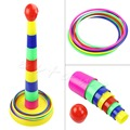 Funny Family Outdoor Game Ring Children Toy Throw Lawn Toss Quoits Play Garden