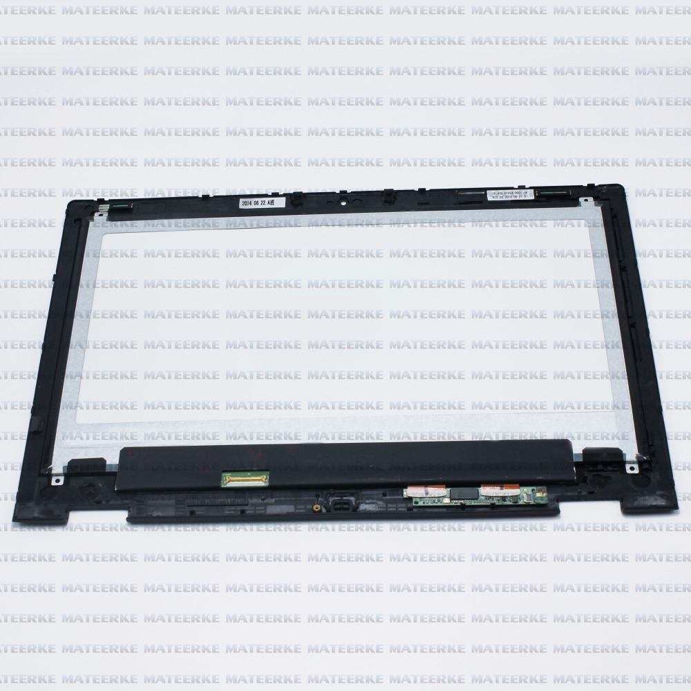 Brand New For Dell Inspiron 13 7352 (1920*1080)LCD Touch Screen Digitizer Full Assembly with Frame laptop lcd lp140wf1 sp b1 for dell e7440 with touch lcd screen led display brand new 1920 1080