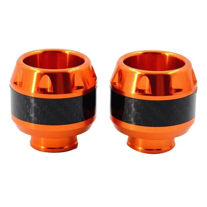 2 pieces New Motorcycle Travel Frame CNC Anti Crash Protector Anticaida For Honda MSX125 M3 MSX Engine Engine Sword Orange