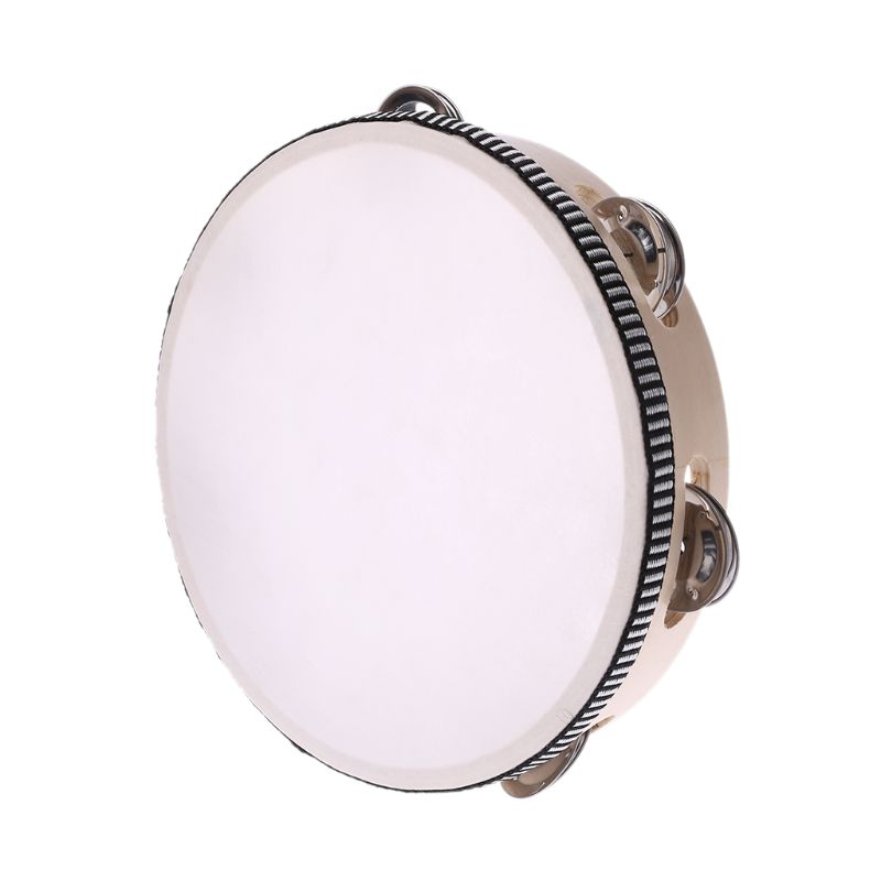 Percussion Drum Tambourine Hand Jingle for KTV Party Game Toy Polyester film in Drum from Sports Entertainment