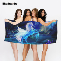Unicorns Fantasy Luxury Bath Towel Super Absorbent Beach Towels Soft Microfiber Environmental Printing Towels