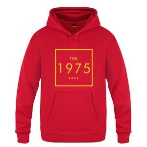 Image 4 - The 1975 Letter Swag Music  Sweatshirts Men 2018 Mens Hooded Fleece Pullover Hoodies
