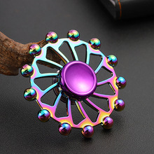 Ferris Wheel Hand Spinner EDC Zinc Alloy Fidget Hand Spinners Autism ADHD Kids Finger Toys Spinners Focus Relieves Stress Adhd E silver black finger spinner fidget edc hand for autism adhd anxiety stress relief focus toys gift 2017 hot selling