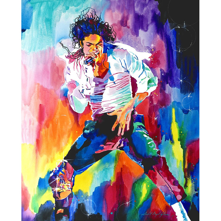 Leinwand Öl Malerei Berühmte Star Michael Jackson Wohnkultur durch ...