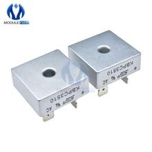 10PCS KBPC3510 35A 1000V Diode Bridge Rectifier Single Phase Bridge Rectifier 4 Four Terminals Low Reverse Leakage Current