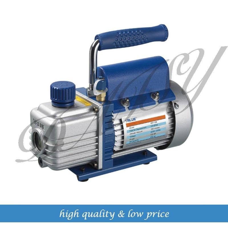 цена на Value FY-1H-N Mini Air Ultimate Vacuum Pump 220V Air Compressor LCD Separator Laminating Machine HVAC Refrigeration Repair Tools