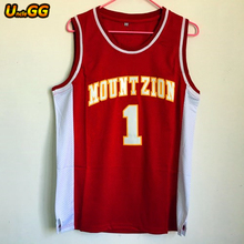 999175de Uncle GG Tracy McGrady Jersey 1 Mount Zion Christian Academy Wholesale  Cheap Throwback Basketball Jersey Stitch Shirt For Mens