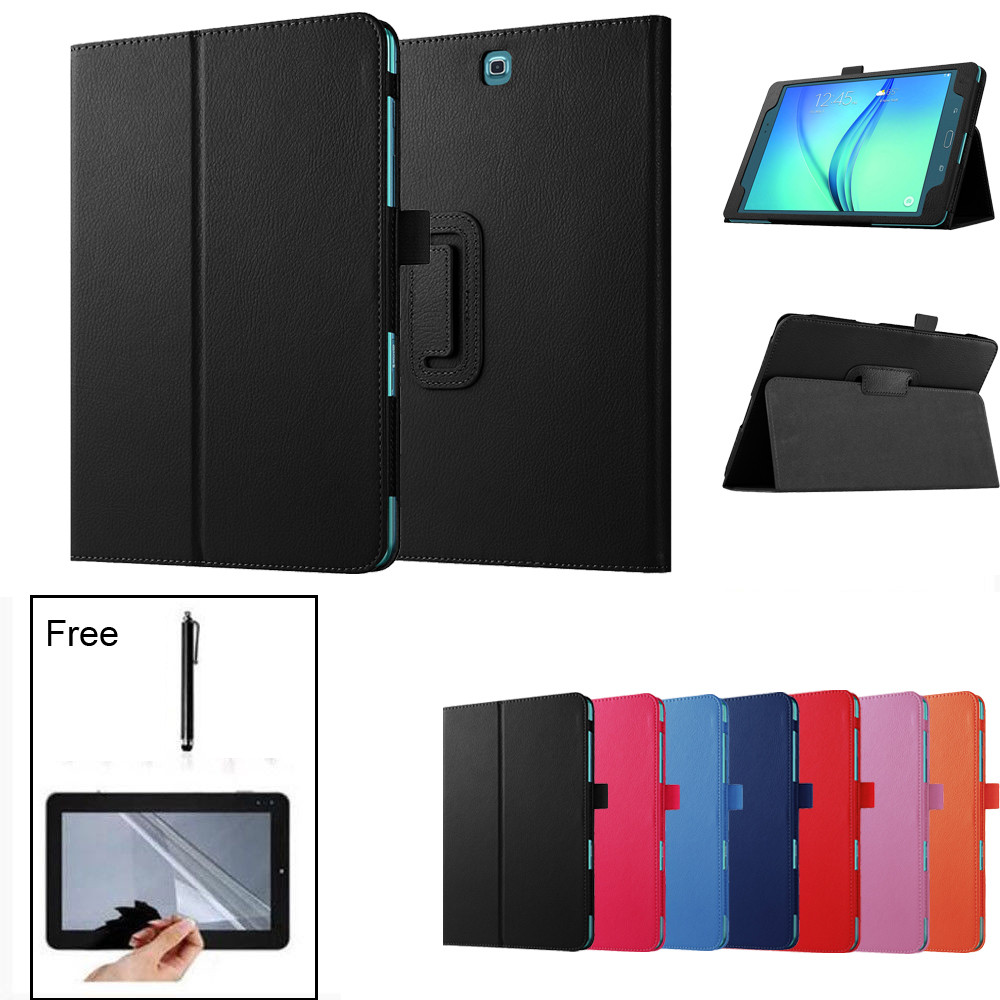 Tablet Case For Samsung Galaxy Tab A 8.0 SM-T350 T355 PU+Leather Smart Case Stand Cover For Samsung Galaxy Tab A 8.0 SM-T350 Y4