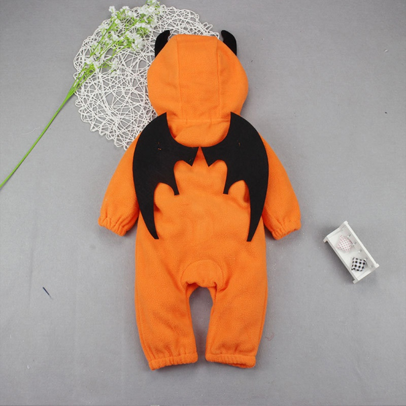 Cute Rompers Baby Romper Halloween Costumes Boys Girls Winter Clothes Snowsuit Newborn Rompers Clothing With Cap ...