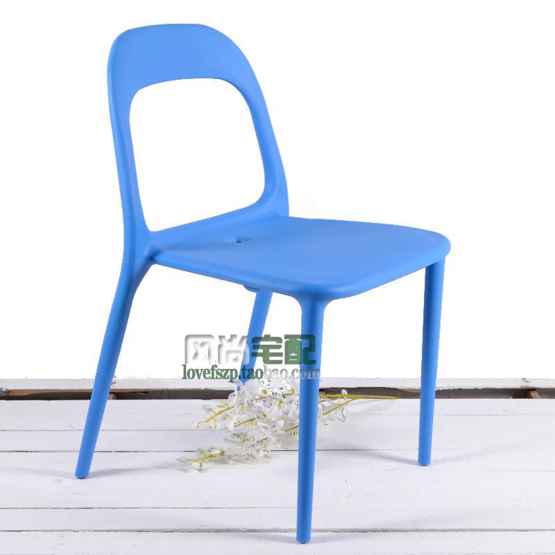 Minimalist Fashion Designer Urban Dinette IKEA Plastic Stacking Chairs  Coffee To Discuss Work And Leisure Shipping In Shampoo Chairs From  Furniture On ...