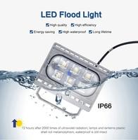 2017 Rushed Real Ul Cqc Ce Led Spotlight Led Outdoor Flood Light Waterproof Focos Exterior Floodlight Refletor Spotlighting