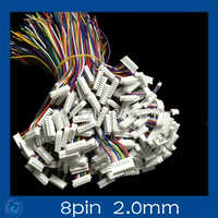 Mini. Micro 2.0 mm T-1 8-Pin conector w /. x 10 sets.8 pin 2.0 mm