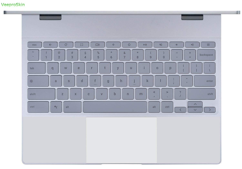 """Для Google Pixelbook 12,3 """"сенсорный экран Chromebook(2017 выпущен) клавиатура кожа США Макет ультра тонкий мягкий прозрачный чехол для клавиатуры"""