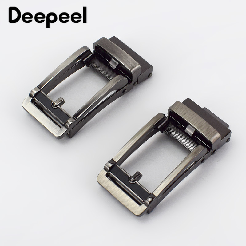 Deepeel Fashion Men Automatic Belt Buckles Metal Buckle For Belt 30-31mm Waistband Belt Head DIY Leathercraft Jeans Accessories
