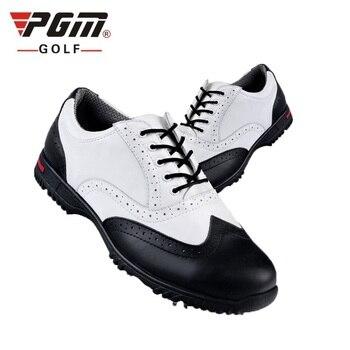 Pgm Golf zapatos para hombre zapatos de cuero cómodos Golf para hombres transpirables actividades giratorias zapatillas de entrenamiento AA51034