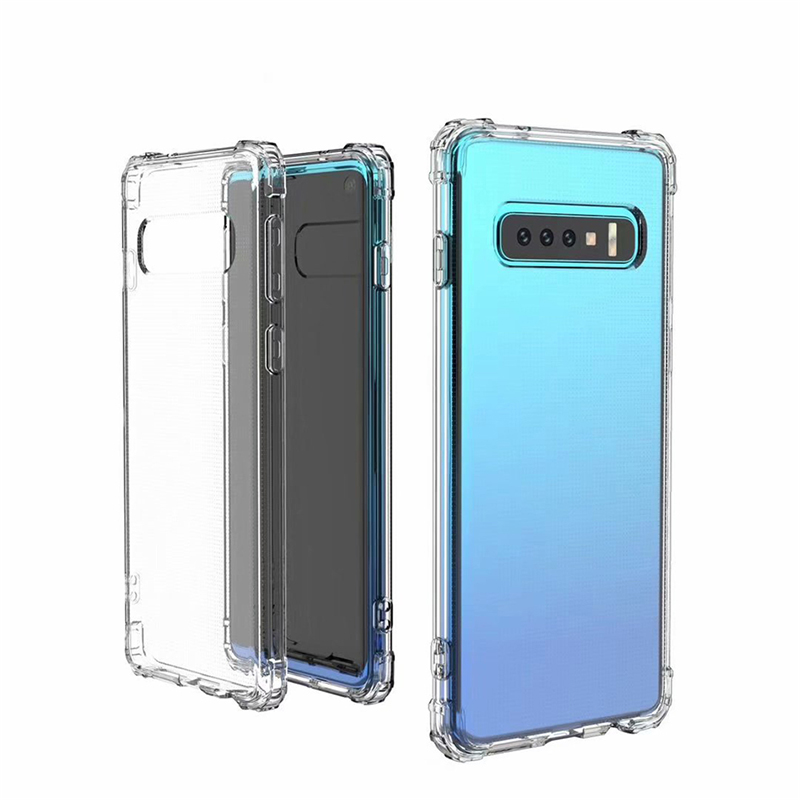 Clear ShockProof Soft Silicone Case For Samsung Galaxy S8 S9 S10 Plus 10E M10 M20 A6 A7 A8 Plus 2019 S6 S7 edge S10 Lite Cover  (4)