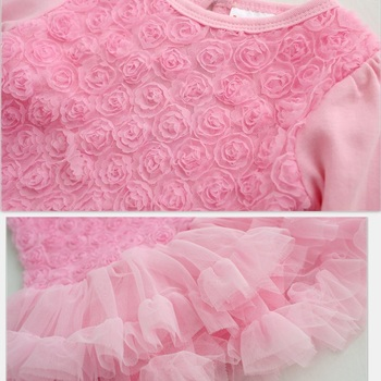 Party & Birthday Dress For 1-2 years Baby Girl Shoes+Gown 1