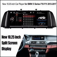 10 25 Inch Car Multimedia Player For BMW 5 Series F10 F11 2013 2017 With