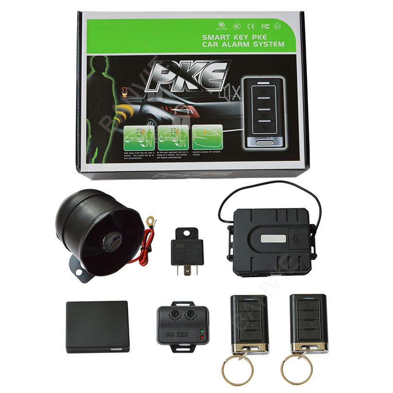 High Quality SPY PKE Passive Keyless Entry One Way Car Alarm System With Advanced Sensing Function & Remote Trunk Release car alarm system keyless anti theft car system pke car alarm system smart remote control for toyota