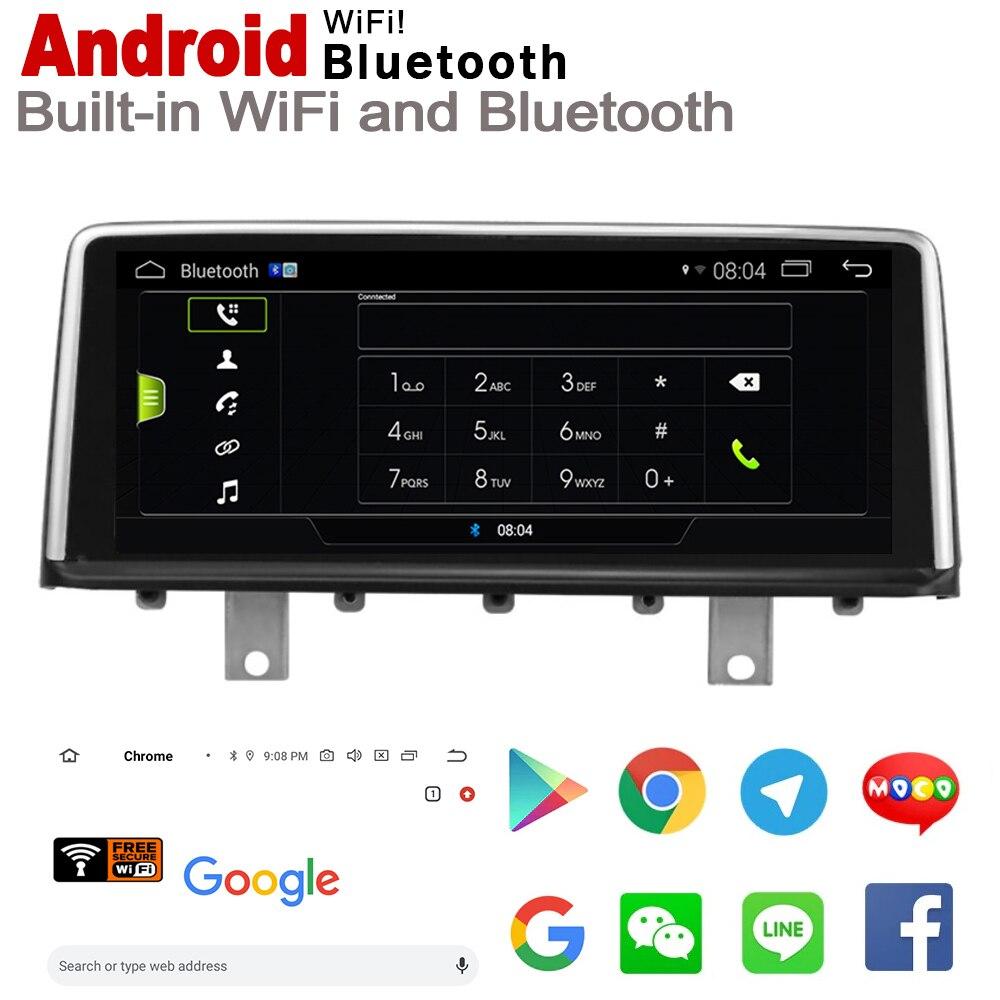 """ספיישל משחקי-Quercetti 10.25"""" אנדרואיד 7.0 עד לרכב GPS Navi מפה BMW M2 F87 2013 ~ 2017 NBT מקורי סגנון מולטימדיה HD מסך סטריאו נגן רדיו אוטומטי (4)"""