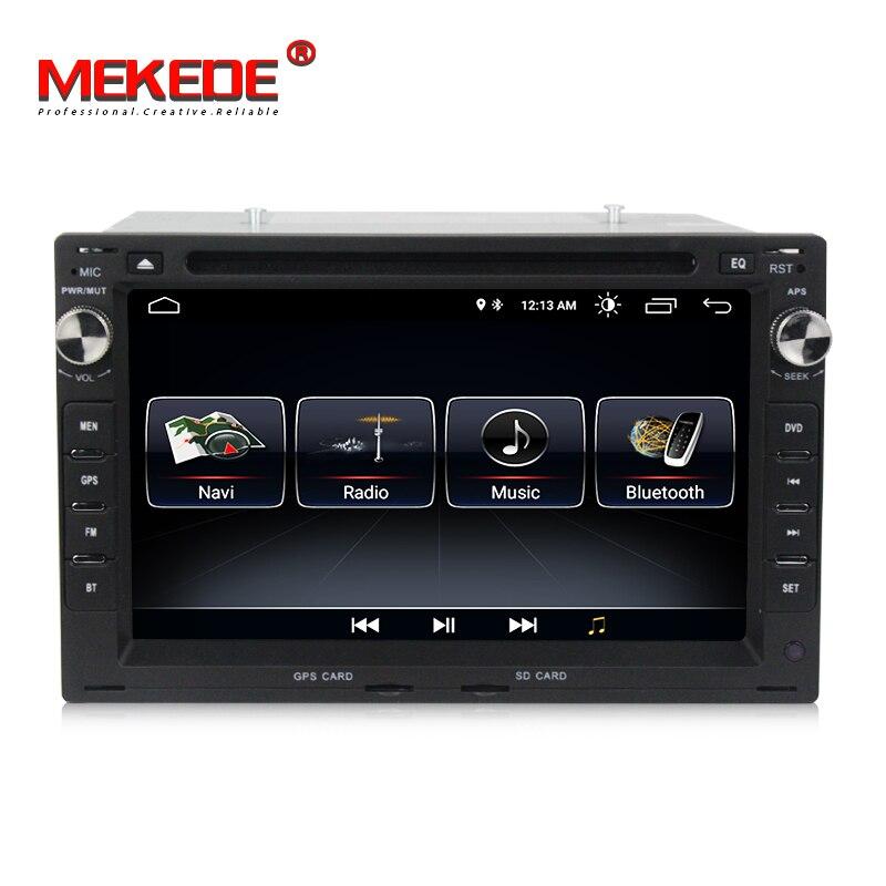 MEKEDE Quad core Android 8.1 unidade de cabeça de navegação GPS Do Carro do Jogador para PASSAT B5 B4 GOLF4 B5 MK5 GOLF POLO TRANSPOR frete grátis