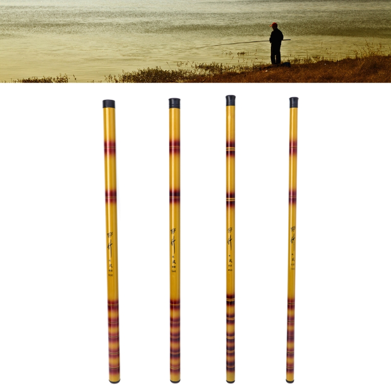 3.6M/4.5M/5.4M/6.3M Mini Fiberglass Portable Hand Pole Telescopic Stream Fishing Rod new