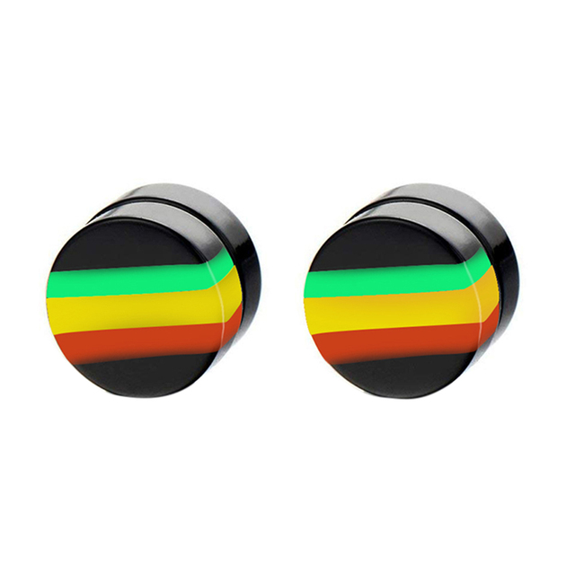1 Pair Man Women Magnetic Earrings No Piercing Simple Acrylic Round Earring KS shipping.jpg 640x640 - 1 Pair Man Women Magnetic Earrings No Piercing Simple Acrylic Round Earring KS-shipping