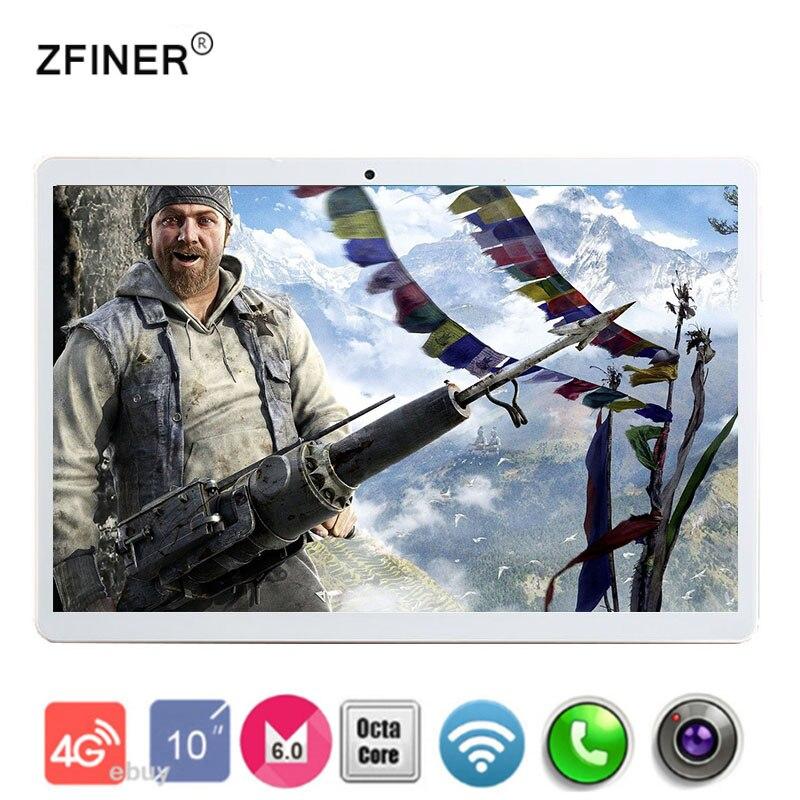 bilder für Dhl-freies Verschiffen 10 zoll Tablet PC 4 GB RAM 32 GB 64 GB ROM Android 6.0 GPS Dual-sim-dual-kamera 8.0MP Octa-core 8 Kerne 1920*1200